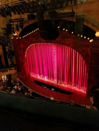 Shubert Theatre, section: Balcony Right, row: B, seat: 18