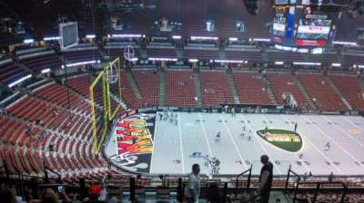 Honda Center, section: 436, row: N, seat: 8