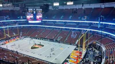 Honda Center, section: 429, row: M, seat: 8