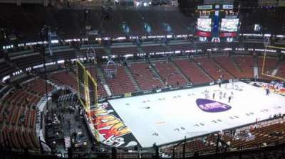 Honda Center, section: 417, row: M, seat: 8