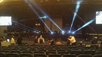 The Theatre at Madison Square Garden, section: 202, row: L, seat: 11