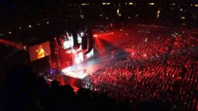 Capital One Arena, section: 400, row: h, seat: 19