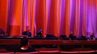 Radio City Music Hall, section: Orchestra 5, row: DD, seat: 513