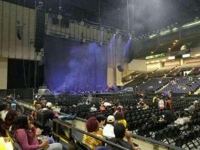 Royal Farms Arena, section: 109, row: B, seat: 7