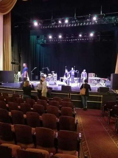 Lincoln Theatre, section: orch, row: j, seat: 101