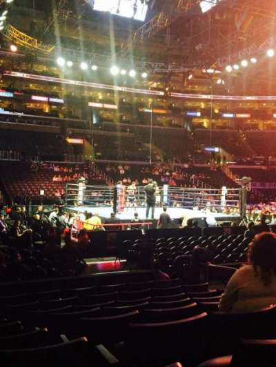 Staples Center, section: 102, row: 9, seat: 8