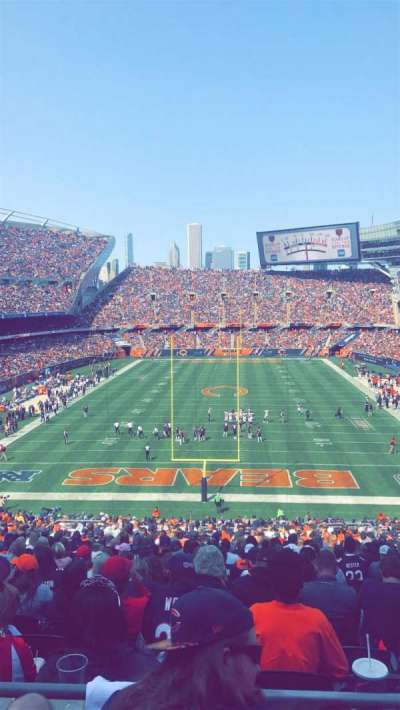 Soldier Field, section: 322, row: 3, seat: 14