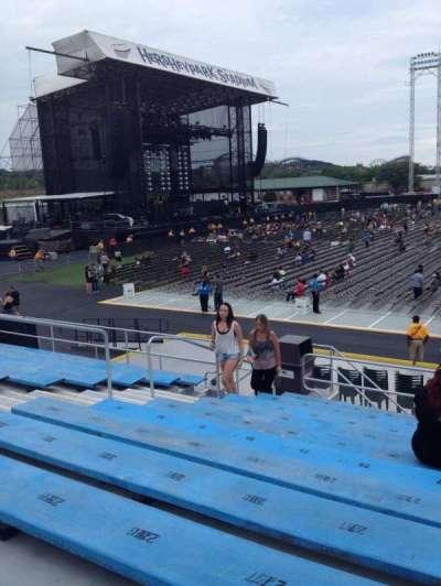 Hershey park stadium section 7 row f