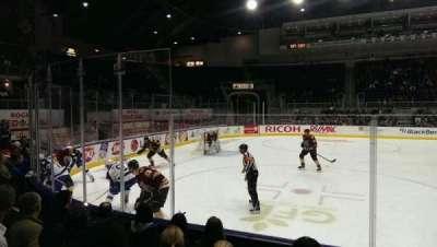 Ricoh Coliseum, section: 102, row: gg, seat: 12