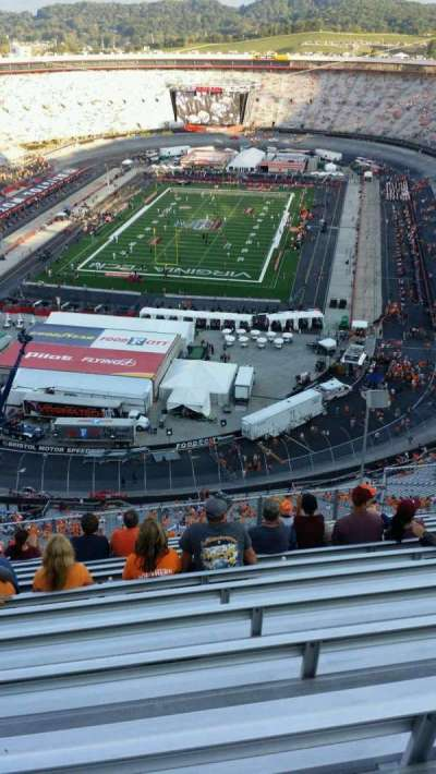 Bristol Motor Speedway, section: WO-F, row: 13, seat: 9