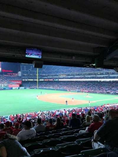 Angel Stadium, section: T208, row: K, seat: 1