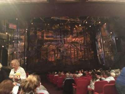 Broadway Theatre - 53rd Street, section: Orchestra, row: R, seat: 2