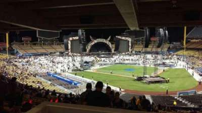 Dodger Stadium, section: 111LG, row: W, seat: 4