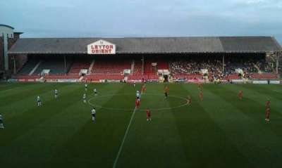 Matchroom Stadium, section: gallery, row: g, seat: 9