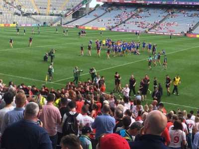 Croke Park, section: 331, row: AA, seat: 7
