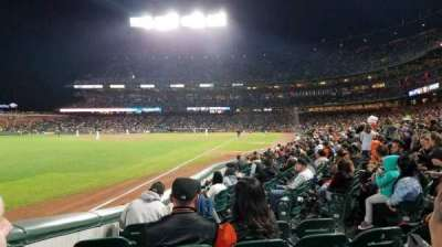 AT&T Park, section: 130, row: 10, seat: 7