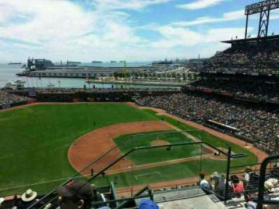AT&T Park, section: 325, row: 3, seat: 3