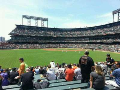 AT&T Park, section: B141, row: 23, seat: 16