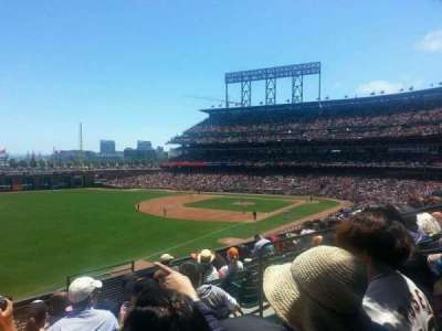 AT&T Park section 231