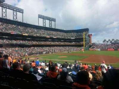 AT&T Park section 106