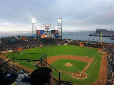 AT&T Park, section: 318, row: 2, seat: 12