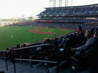 AT&T Park, section: 231, row: J, seat: 1