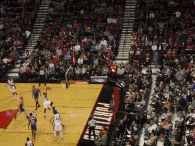 Moda Center, section: 333, row: B, seat: 3