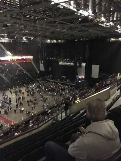 Manchester Arena, section: 212, row: K, seat: 10