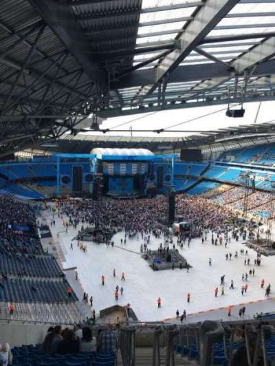 Etihad Stadium (Manchester), section: 318, row: AA, seat: 516
