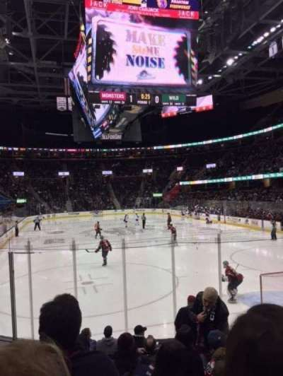 Quicken Loans Arena, section: 116, row: 9, seat: 5