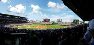 Wrigley Field, section: 231, row: 4, seat: 110