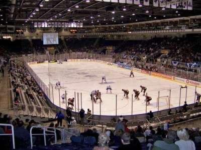 Ricoh Coliseum, section: 106, row: P, seat: 6