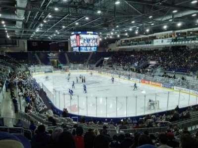 Ricoh Coliseum, section: 116, row: N, seat: 21
