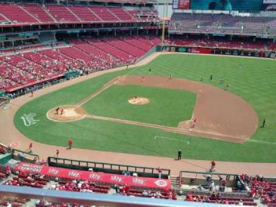 Great American Ball Park, section: 430, row: A, seat: 3