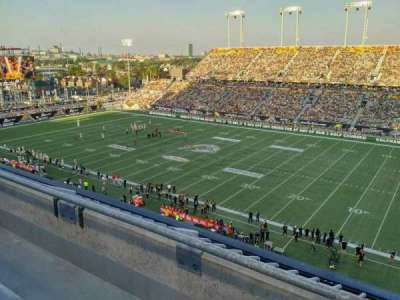 Tim Hortons Field, section: 202, row: 2, seat: 10