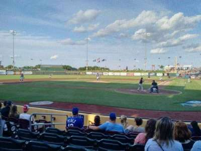 Werner Park, section: 115, row: 8, seat: 5