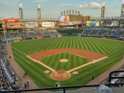 Guaranteed Rate Field, section: 531, row: 3, seat: 3