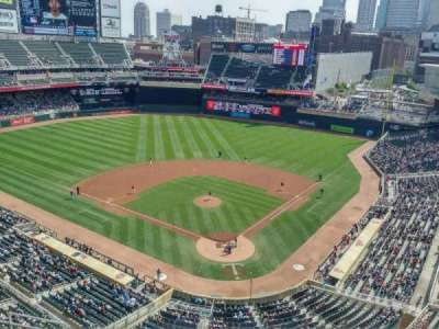 Target Field, section: 316, row: 1, seat: 6