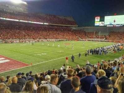 Camp Randall Stadium, section: X, row: 23, seat: 15