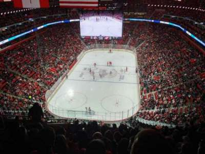Little Caesars Arena, section: 218, row: 10, seat: 18