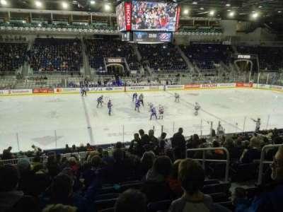 Ricoh Coliseum, section: 111, row: Q, seat: 5