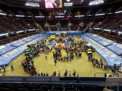 Quicken Loans Arena, section: 117, row: 22, seat: 12