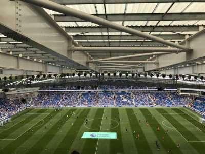 American Express Community Stadium, section: W3D, row: X, seat: 99