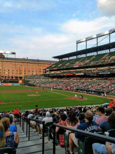 Oriole Park at Camden Yards, section: 54, row: 24, seat: 1