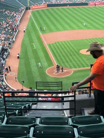 Oriole Park at Camden Yards, section: 330, row: 17, seat: 2