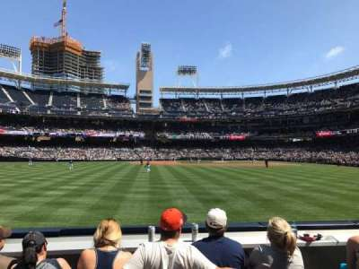 PETCO Park, section: 130, row: 2, seat: 10