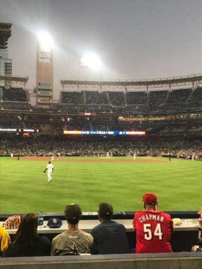 PETCO Park, section: 128, row: 3, seat: 11