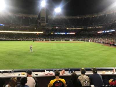 PETCO Park, section: 128, row: 3, seat: 15