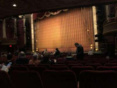 Imperial Theatre, section: Orchestra Right, row: P, seat: 22