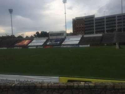 American Legion Memorial Stadium, section: 16R, row: F, seat: 17